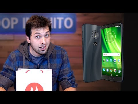 MOTO G6 PLAY: UNBOXING E HANDS ON!