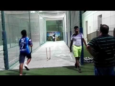 TAHA CRICKET CLUB UAE PRACTICE SESSION WITH KHURAM KHAN