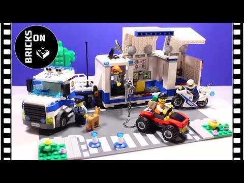 LEGO CITY 60139 Police Mobile Command Center Speed Build Instruction Lego Stop Motion Animation