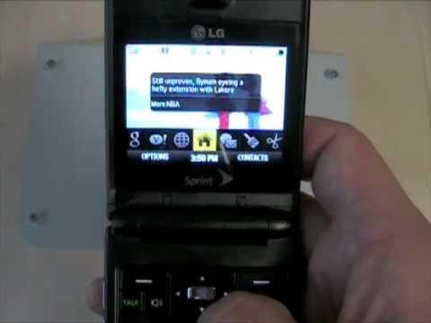 LG Lotus (Sprint) - Review Pt 1
