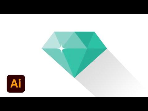 Create Polygon Logo (Diamond)  | Illustrator Tutorial