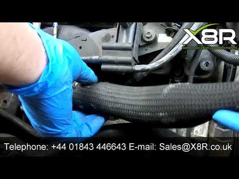 Ford Mondeo Jaguar X Type 2.0 2.2 TDCi EGR Valve Delete Blanking Tube Instructions