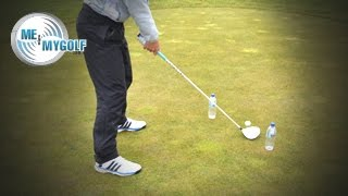 FIX YOUR SLICE USING A WATER BOTTLE!