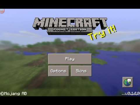 How to Change Your Skin for Minecraft Pocket Edition 0.14.0
