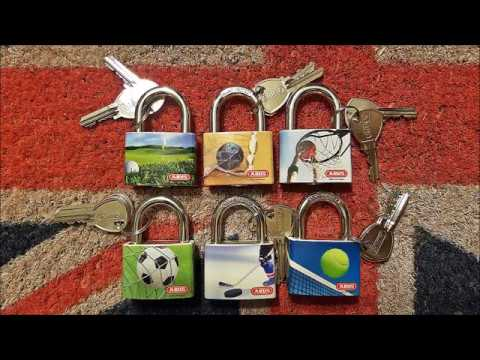 Lock Picking Package From VERY Kind Keymaster. Abus My Sport Locks To Add To My Collection