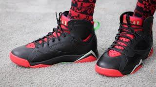 the best attitude 8e141 73172 Air Jordan 7 Retro Marvin The Martian Sneaker Review