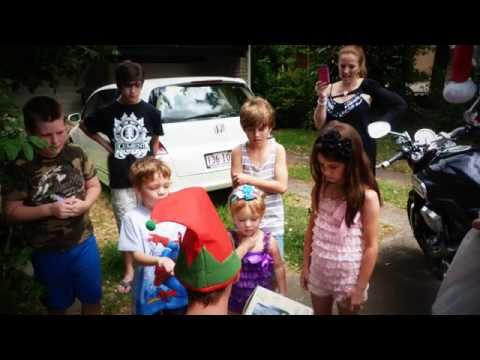 Cursing for Kids Charity Christmas Day 2014