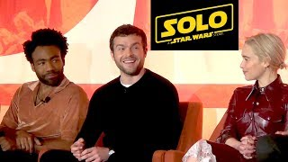 Solo: A Star Wars Story FULL Press Conference w/Alden Ehrenreich; Donald Glover, Ron Howard+