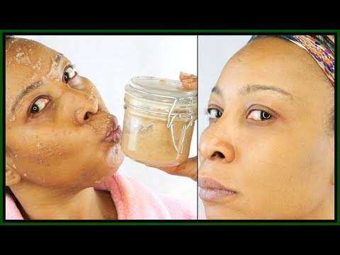 ANTI-AGING BEAUTY FACE MASK | WATCH YOUR SKIN TRANSFORM IN MINUTES, ALL NATURAL |Khichi Beauty