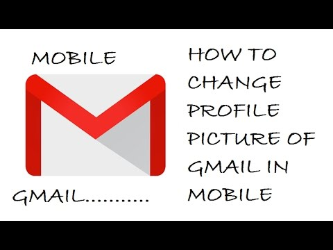 How to change profile picture of Gmail