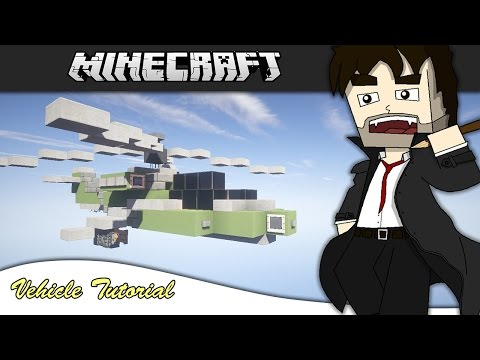 Minecraft Vehicle Tutorial - Apache Attack Helicopter
