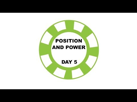 Position and Power