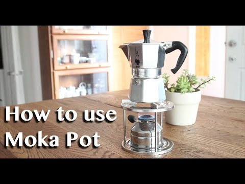 How to use a Moka Pot for your Morning Coffee | 모카포트 사용하는 방법 | Cafe Yooky