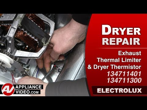 Electrolux Dryer - Exhaust Thermal Limiter Thermistor - Diagnostic & Repair