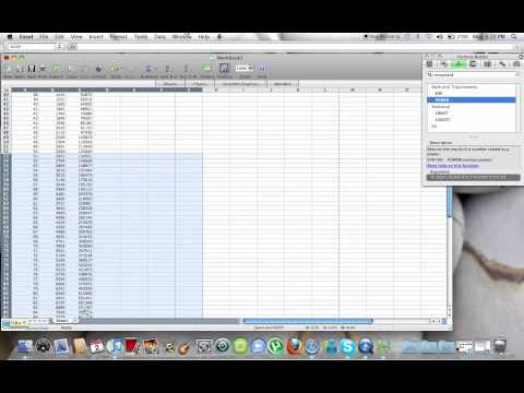 exponent table make square cube tables excel