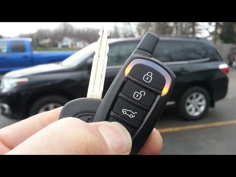 2016 2017 Toyota Tacoma Remote Start Install Diy Toyota Remote