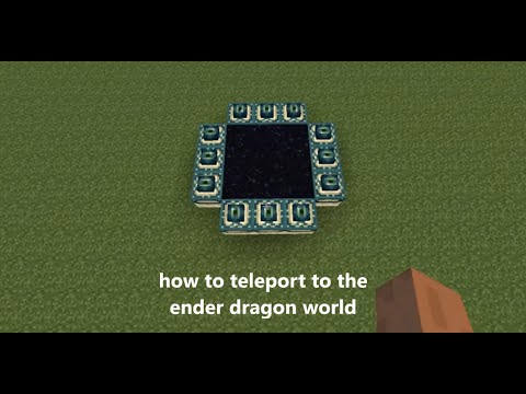 how to teleport to the ender dragon world