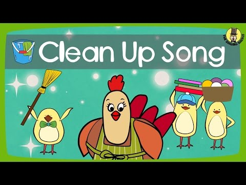 Clean Up Song | Tidy Up Song | The Singing Walrus