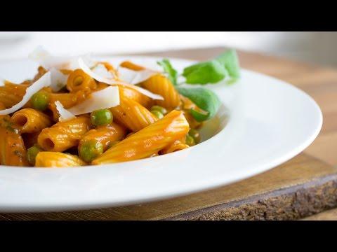 Pasta with Whisky Sauce | Vegan |