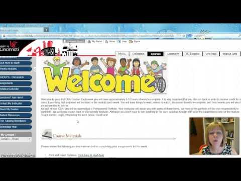 Welcome to CDA Online at the University of Cincinnati