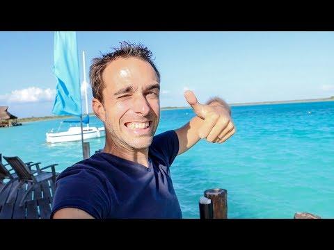 Direction douanes du Belize + la plus belle mer vue à ce jour - Family Coste