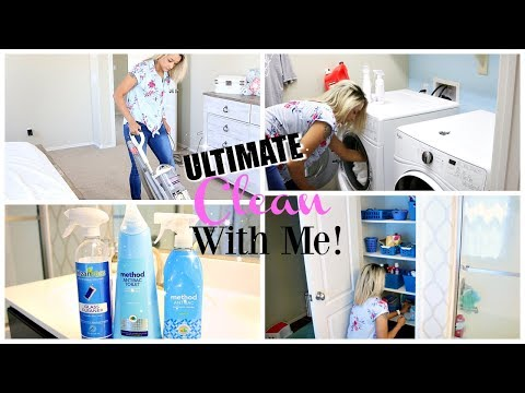 ULTIMATE CLEAN WITH ME | EXTREME CLEANING MOTIVATION