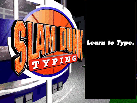 Slam Dunk Typing (1997) - Playable Demo