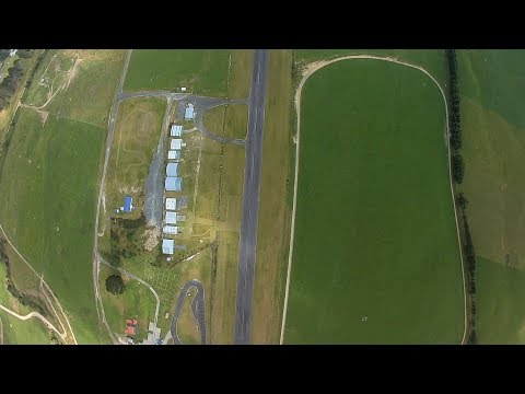 1,000 foot drone dive at New Zealand airport