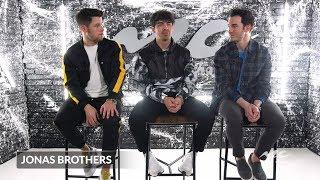 "Jonas Brothers on their Leading Ladies in ""Sucker"" Video"