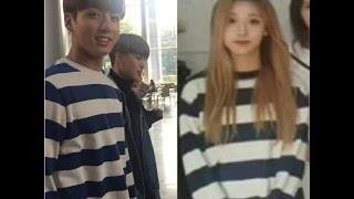 Download BTS Jungkook & ( Lovelyz ) Yein Couple moments Video