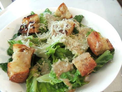 THE BEST homemade Caesar Salad Dressing