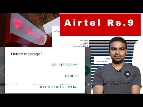 Airtel ₹9 Unlimited, WhatsApp Live Share Location, Slow 4G Speed in india, Tech Prime #119