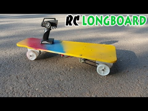 How to make Electric Longboard RC at home