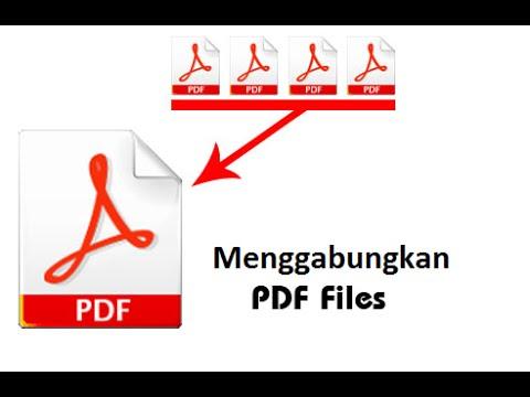 Merge File Pdf Software (Menggabungkan File Pdf)