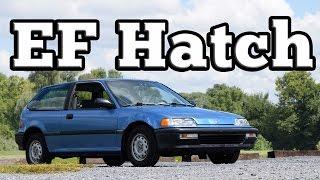 1991 Honda Civic ED6 EF Hatch: Regular Car Reviews