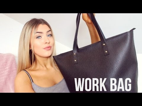 What's In My Work Bag! | 2017!