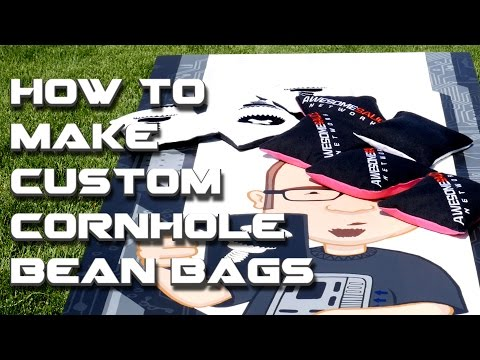 How to Build a Set of Custom Cornhole Boards - Part 3: How to Make Custom Bean Bags