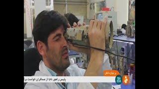 Iran Rayan Roshd Afzar co. made Military Infrared Night vision camera devices دوربين حرارتي