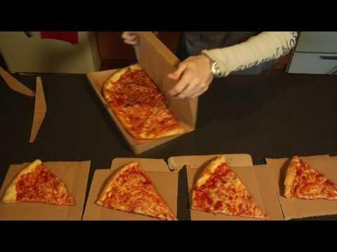 GreenBox: Pizza Box Turns into Plates & Storage Unit