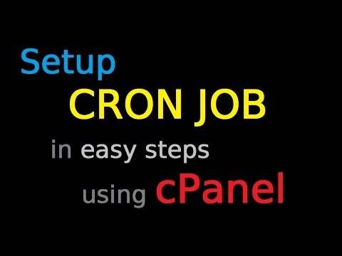 How to setup Cron Job in cPanel | Simple Step-by-step Tutorial