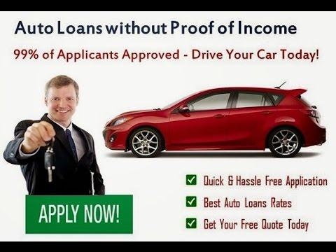 No Income Check Auto Loan | No Income Check Car Loan