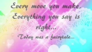 Taylor Swift- Today was a Fairytale