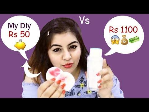 One Swipe for Removing Makeup 😱 DIY Micellar Water | Jsuper Kaur