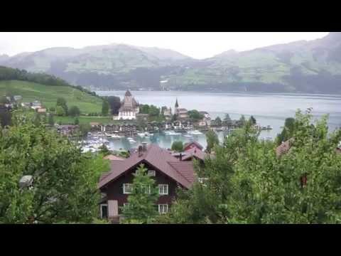 Road to Zermatt Switzerland via Interlaken, Spiez and Grindelwald