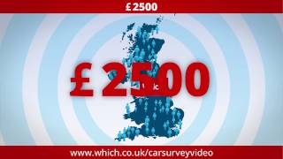 Win £2500 with the 2017 Which? Car Survey