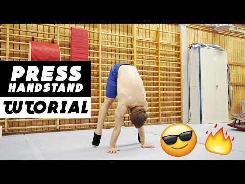 Press Handstand tutorial for beginners