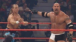 Goldberg & Shawn Michaels vs. Randy Orton & Ric Flair: Raw, Sept. 29, 2003, on WWE Network