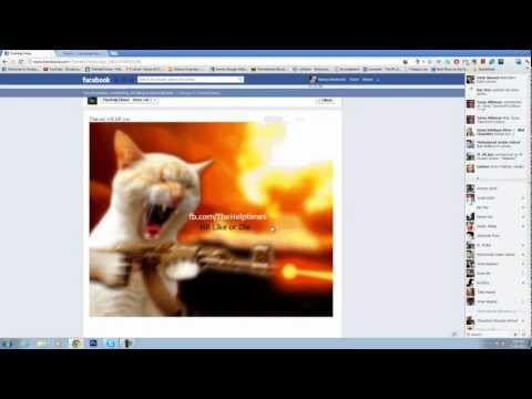 How To Use Animated GIF in Your FaceBook Page