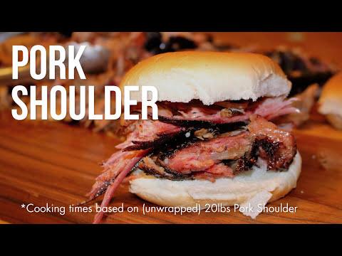 Pork Shoulder with Apple Vinegar Injection