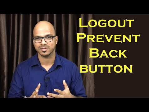 Login using Servlet and JSP | How to Prevent Back button after Logout? |  Part 2